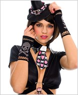 Skull Print Gloves ML-425