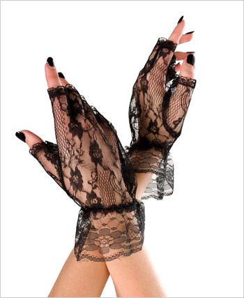Fingerless Lace Gloves ML-428