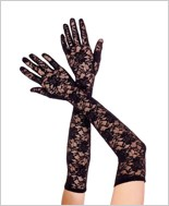 Lace Extra-Long Gloves ML-464