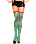 Striped Thigh High Stockings ML-4641