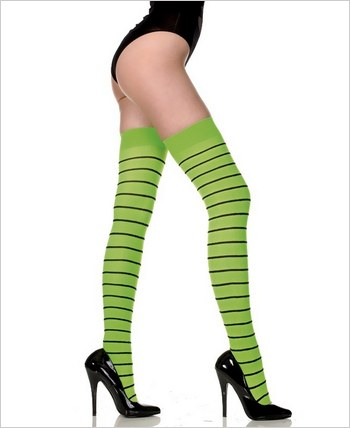 Music Legs® Stripes Thigh Hi ML-4724