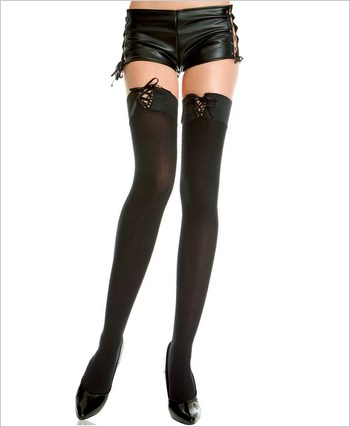 Music Legs® Opaque Thigh-Hi ML-4751