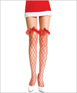 Music Legs® Lycra Fence Net Thigh Hi ML-4921