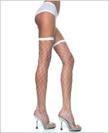 Music Legs® Big Gadge Diamond Net Thigh Hi ML-4924