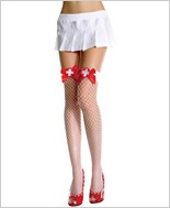 Music Legs® Industrial Net Thigh Hi ML-4933