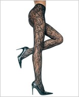 Music Legs® Lace Pantyhose ML-5026