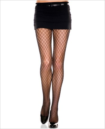 Diamond Net Multi Weave Pantyhose ML-5056