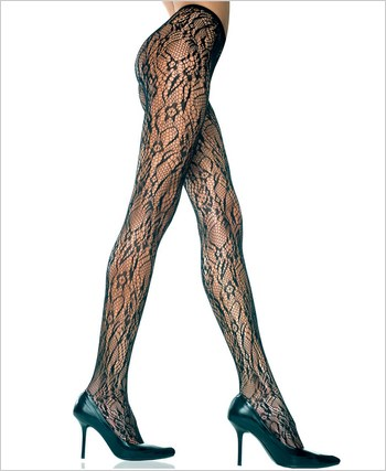 Music Legs® Lace Pantyhose ML-5067