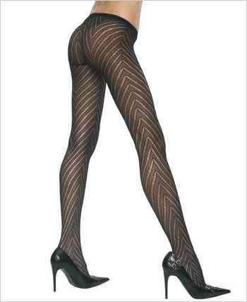 Music Legs® Lycra Designed Pantyhose ML-5099