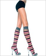 Music Legs® Multi Stripes Knee Hi ML-5611