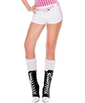 Side Double Striped Knee Highs ML-5650
