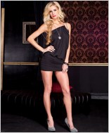 Asymmetrical Club Dress ML-56605