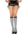 Music Legs® Opaque Stripes Knee Hi ML-5741