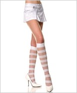 Music Legs® Multi Stripes Knee Hi. ML-5761