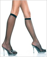 Music Legs® Fishnet Knee Hi ML-5791