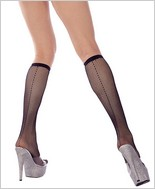 Music Legs® Fishnet Knee Hi ML-5792