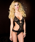 Ruffle Lace Teddy ML-58030