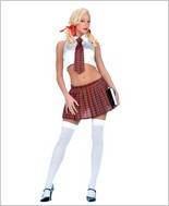 Music Legs® Sexy Schools Girl Set ML-70026