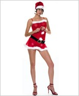 Music Legs® Miss Santa Dress ML-70030