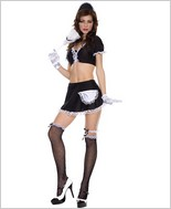 Music Legs® Sexy French Maid Outfit ML-70035