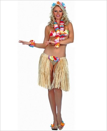 Music Legs® Sexy Hawaiian Outfit ML-70054
