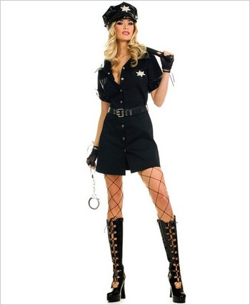 Music Legs® Sexy Officer Outfit ML-70089