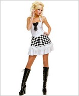 Music Legs® Sexy Race Car Dress ML-70095