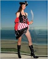 Music Legs® Sexy Pirate Outfit ML-70104