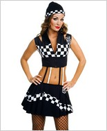 Music Legs® Race Car Dress ML-70134