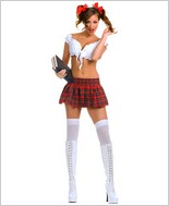 Music Legs® Sexy School Girl Outfit ML-70142