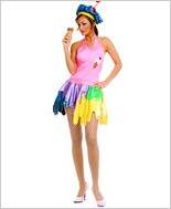 Music Legs® Ice Cream Girl Outfit ML-70148