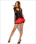 Music Legs® Sexy Spider Witch Costume ML-70190
