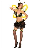 Music Legs® Cute And Sexy Honey Bee Costume ML-70195