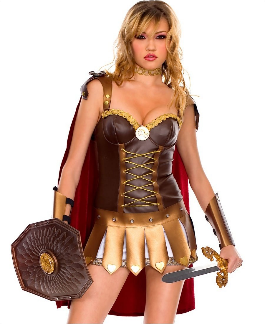 Roman Woman Warrior Outfit Ml-70203-6391