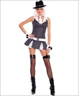 Mafia Girl Adult Costume ML-70227