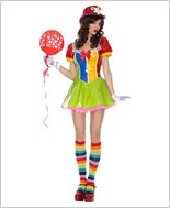Music Legs Sexy Clown On The Town Adult Costume ML-70242