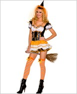 Orange Witch Adult Costume ML-70271