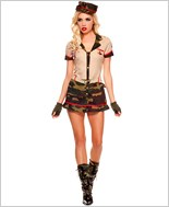 Adult Medallion Army Costume ML-70285