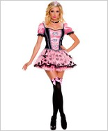 Pink Couture Queen Of Heart Costume ML-70304