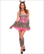 Pretty Kitten Adult Costume ML-70318