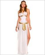 White Sexy Goddess Adult Costume ML-70320