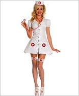 Rn On Duty. Nurse Costume ML-70415