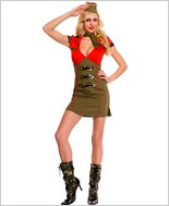 Snappy Lady Army Costume ML-70436