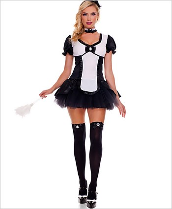 Adult Cameo French Maid Costume ML-70455
