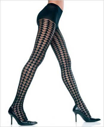 Music Legs® Designed Tights ML-7047