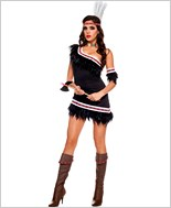 Adult Huron Honey Indian Costume ML-70484
