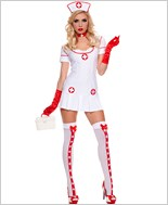 Adult Racy Nurse Costume ML-70489