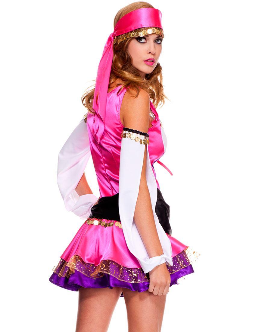 Music Legs 70493 Adult Temptress Gypsy Costume