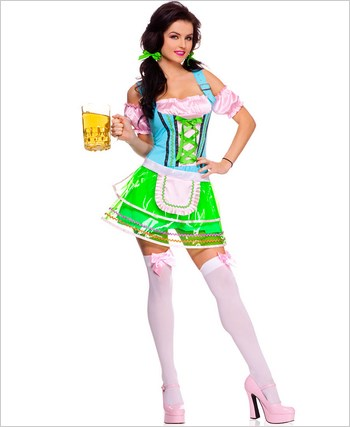 Adult Beer Hall Babe Costume ML-70498