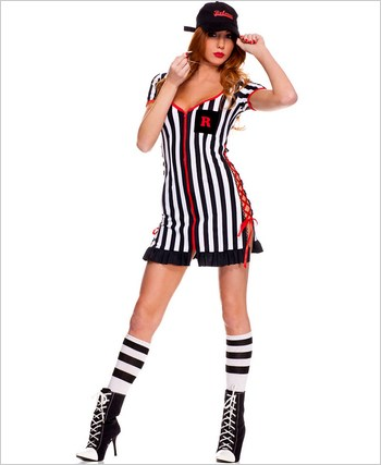 Adult Lady Referee Costume ML-70508